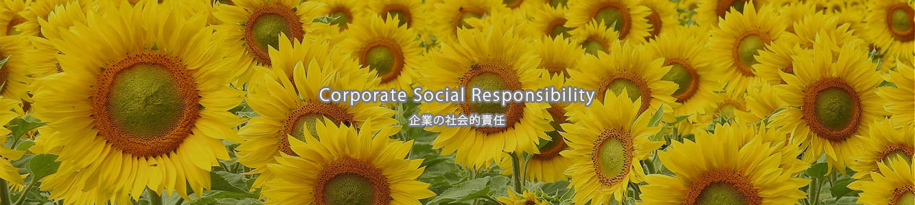 Corporate Social Responsibility-企業の社会的責任-